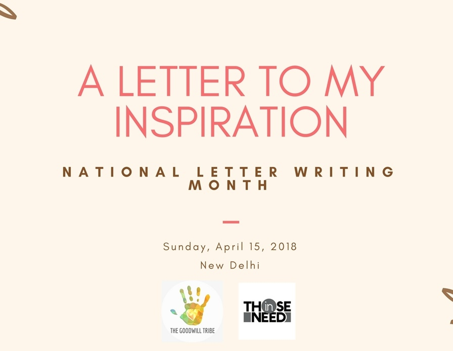 A Letter To My Inspiration