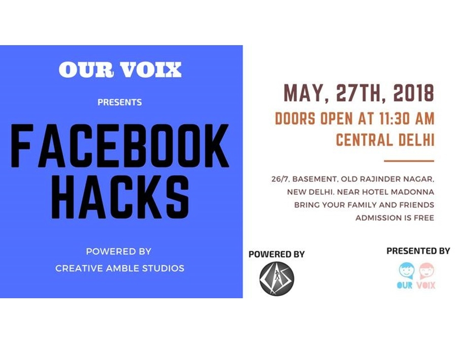 Facebook Hacks | An Exclusive Workshop