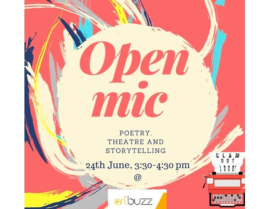 Slam Out Loud - Open Mic
