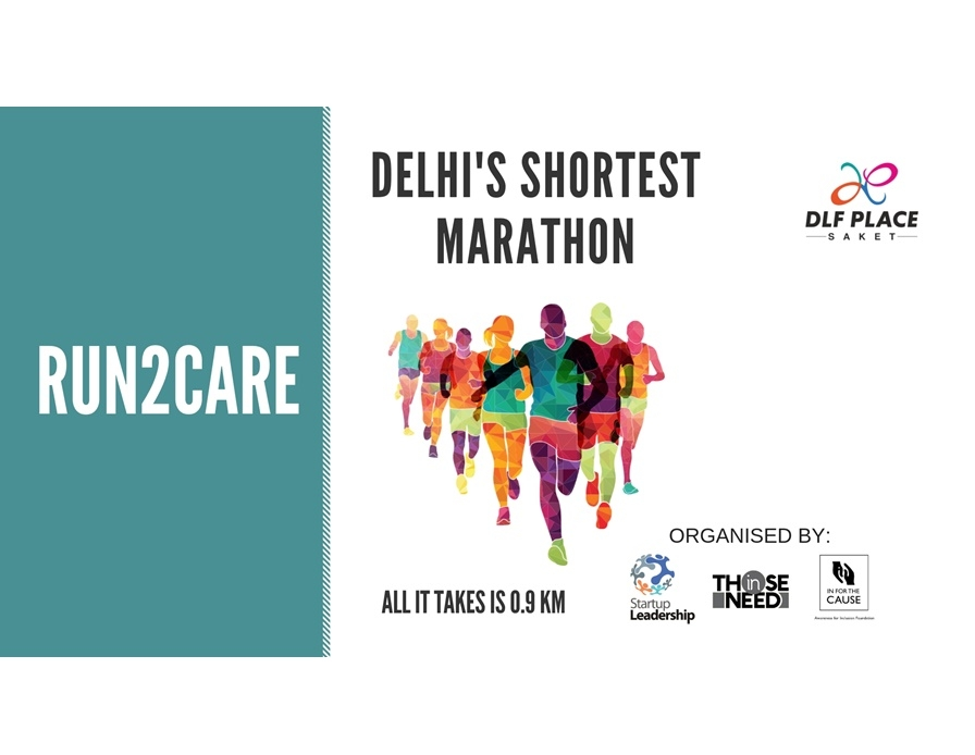 Delhi's Shortest Marathon - Run2Care